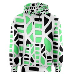 Light green decor Men s Pullover Hoodie