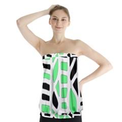 Light green decor Strapless Top