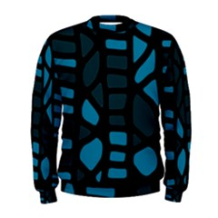 Deep blue decor Men s Sweatshirt