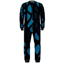 Deep blue decor OnePiece Jumpsuit (Men)