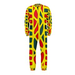 Yellow, green and red decor OnePiece Jumpsuit (Kids)