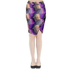 Midi Wrap Pencil Skirt