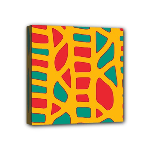 Abstract decor Mini Canvas 4  x 4