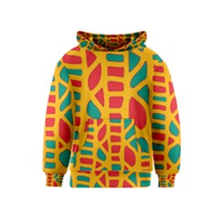 Abstract decor Kids  Pullover Hoodie