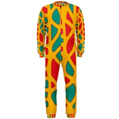 Abstract decor OnePiece Jumpsuit (Men)