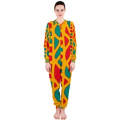 Abstract decor OnePiece Jumpsuit (Ladies)