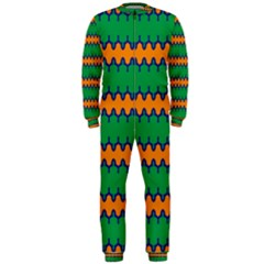 Orange green chains                                                                                            OnePiece Jumpsuit (Men)