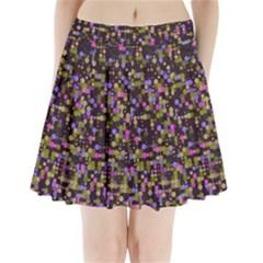 Dots                       Pleated Mini Mesh Skirt