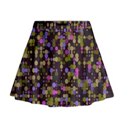 Dots                                                                                               Mini Flare Skirt