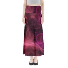 Pink red texture                                                Women s Maxi Skirt