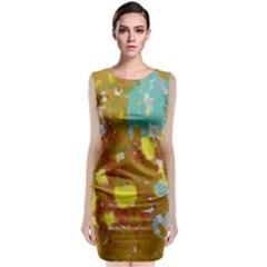 Paint Strokes                                                  Classic Sleeveless Midi Dress