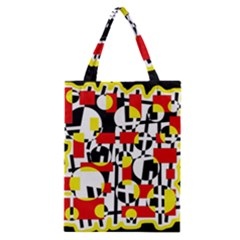 Red and yellow chaos Classic Tote Bag