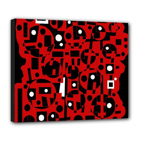 Red Deluxe Canvas 24  x 20