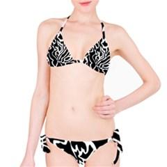 Black and white decor Bikini Set
