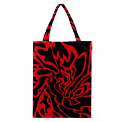 Red and black decor Classic Tote Bag