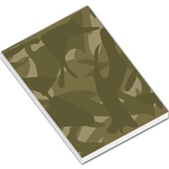 Green Camo Pattern Large Memo Pads