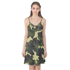 Green Camo Pattern Camis Nightgown