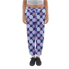 Snowflakes Pattern Women s Jogger Sweatpants