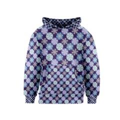 Snowflakes Pattern Kids  Pullover Hoodie