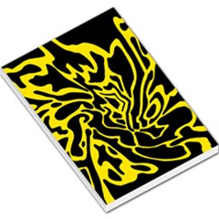Black and yellow Large Memo Pads