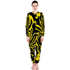 Black and yellow OnePiece Jumpsuit (Ladies)