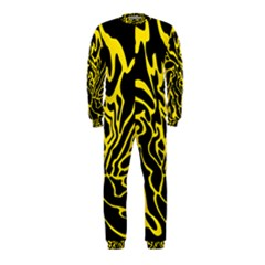 Black and yellow OnePiece Jumpsuit (Kids)