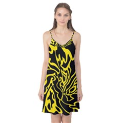 Black and yellow Camis Nightgown