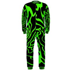 Green and black OnePiece Jumpsuit (Men)