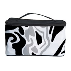Gray, black and white decor Cosmetic Storage Case