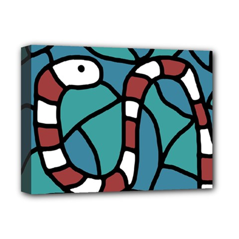 Red snake Deluxe Canvas 16  x 12