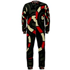Red snakes OnePiece Jumpsuit (Men)