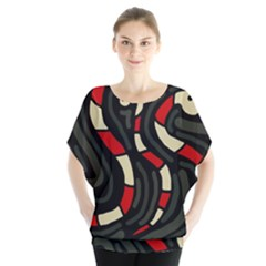 Red snakes Blouse