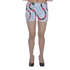 Snakes family Skinny Shorts