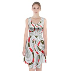 Snakes family Racerback Midi Dress