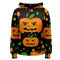 Halloween pumpkin Women s Pullover Hoodie