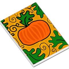 Thanksgiving pumpkin Large Memo Pads