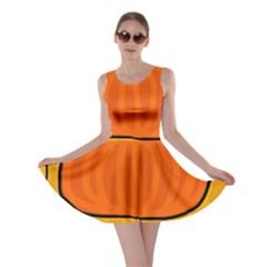 Thanksgiving pumpkin Skater Dress