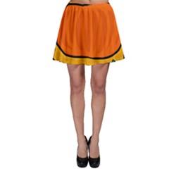 Thanksgiving pumpkin Skater Skirt