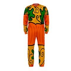 Thanksgiving pumpkin OnePiece Jumpsuit (Kids)