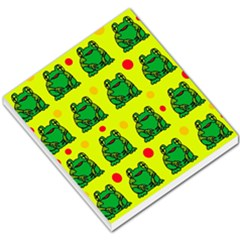 Green frogs Small Memo Pads