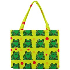 Green frogs Mini Tote Bag