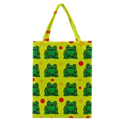 Green frogs Classic Tote Bag