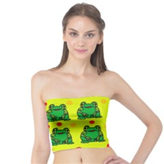 Green frogs Tube Top