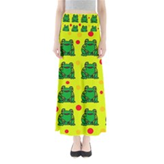 Green Frogs Maxi Skirts
