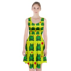 Green Frogs Racerback Midi Dress