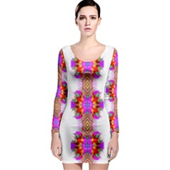 Senegal Lit0811001012 Long Sleeve Bodycon Dress