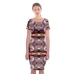 Lesotho Lit0212004014 Classic Short Sleeve Midi Dress