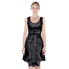 Decorative guitar Racerback Midi Dress