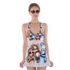 Oz Halter Swimsuit Dress
