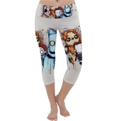 Oz Capri Yoga Leggings